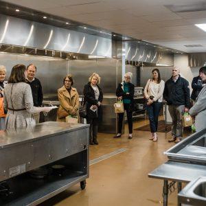 Millstone Kitchen Tour during Grand Opening