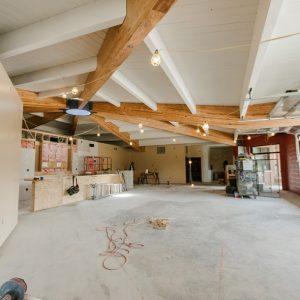 Brewery renovations in progress