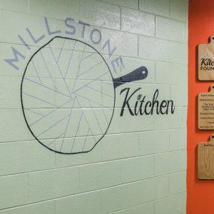 Millstone Kitchen Entrance
