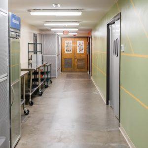 Millstone Kitchen Hallway